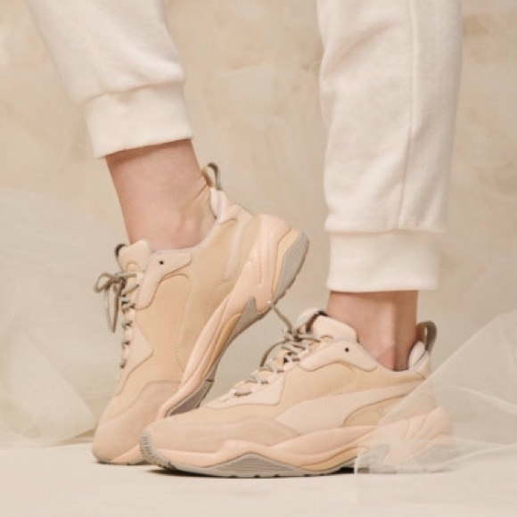 PUMA THUNDER DESERT Dad Sneakers 'Particle Beige'